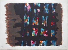 Alfred Manessier – Suite de Pâques, L'Emprisonnement, 1978, lithographie © DR