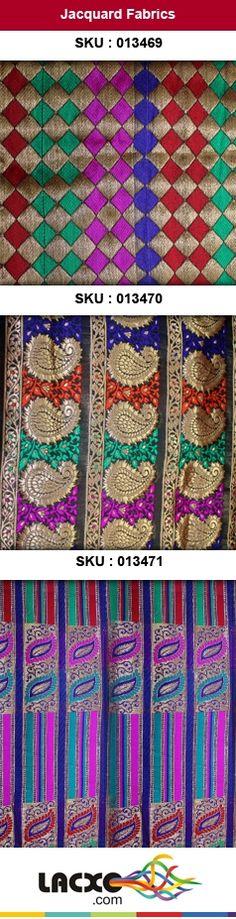 Jacquard Fabrics and Lace Buy Online at http://lacxo.com $10