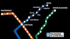 Québec va de l'avant avec le prolongement du métro