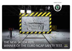 Skoda:  NCAP safety test