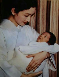 Empress Michiko and the crown prince