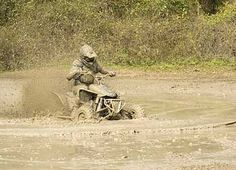 4-wheeler mudding. Done it, but not to this extreme.