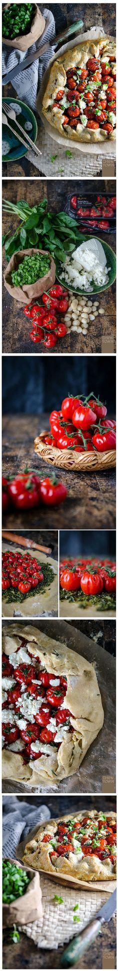 Pizza integrale con noci di Macadamia, ricotta e Grana Padano.