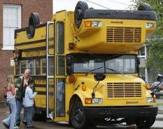 뒤집혀도 괜찮은 버스