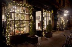 Christopher Street Holiday windows