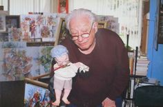 Harold with portrait by two students 3 D, Abstract Art, Students, Portrait, Fictional Characters, Men Portrait, Fantasy Characters, Portraits