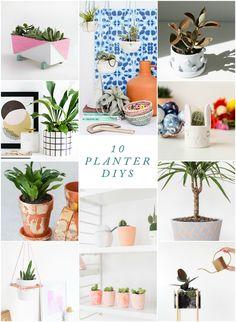 10 DIY Planters you should make (even if you kill plants)