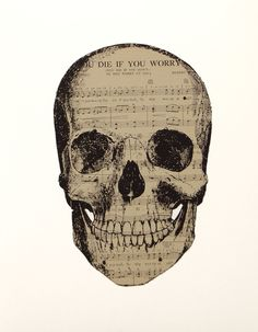 """Saatchi Online Artist: tyrone dalby; Paper, 2012, Assemblage / Collage """"You die if you worry..."""""""