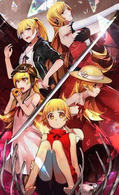 Les 65 meilleures images de monogatari series en 2019 anime art art of animation et dibujo - Personnage manga fille ...