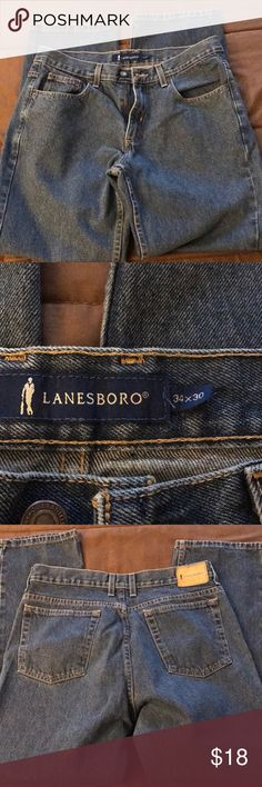 🦈🎈Lanesboro men's jeans 34x30 Lanesboro men's jeans size 34x30. Brand new never worn.   Please check out my closet!  Bundle two or more items and save Lanesboro Jeans Relaxed