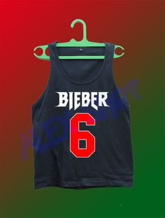 justin bieber 6 shirt tank top gym world purpose 2016 tour concert beliebers #Unbranded #TankTop