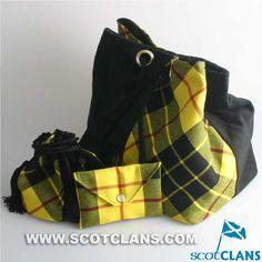 Clan MacLeod Tartan Bags: