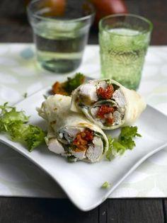 Savoury Wraps - Glutafin gluten free recipes