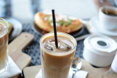 Brunch, Foods, Coffee, Drinks, Tableware, Linz, Milk, Avocado Bread, Eating Ice Cream