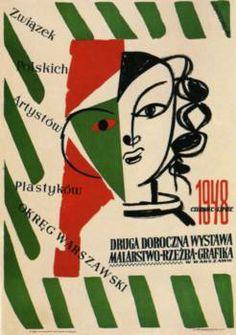 Druga doroczna wystawa - Henryk Tomaszewski Polnische Plakatkunst Galerie und Poster online shop