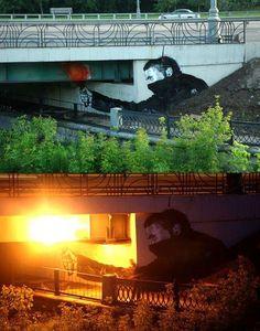 "Artist Pavel Puhov - Global Graffiti, Street Art & Funky Words - Funk Gumbo Radio - Funk Gumbo Radio: http://www.live365.com/stations/sirhobson and ""Like"" us at: https://www.facebook.com/FUNKGUMBORADIO"