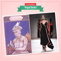 The 16th century Emperor #Akbar, who had ruled the Mughal dynasty during the 1500's, was probably the first Mughal ruler to dream of united India with unification of culture and religion. The #Angrakha or a long formal frock, with ties at one side, became popular, thanks to the emperor. It was Badshah Akbar, who first introduced the concept of tunic and churidar for men, which has today become the favorite of several designers. (Image copyrights belong to their respective owners)