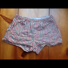 Abercrombie & Fitch Boxer Sleepwear Great pre-loved condition. Cut for girls and comfy! Abercrombie & Fitch Intimates & Sleepwear
