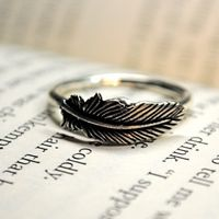 Nora and patch  Hush, hush ring