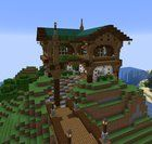 A little house I made... What do you think? :) : Minecraft
