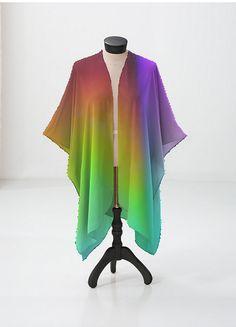 Cashmere Silk Scarf - Color Rainbow 41 by VIDA VIDA 0KTy7