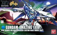 [UPDATE] HGBF 1/144 Gundam Amazing Exia: Box Art, Official Images [No.10 Hi Res images] http://www.gunjap.net/site/?p=192657