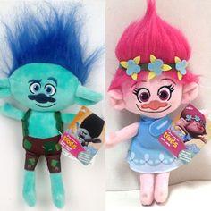 815050c8ea2 2016 The Newest Movie Trolls Plush Toy Poppy Branch Dream Works Stuffed  Cartoon Dolls The Good Luck Trolls Christmas Gifts