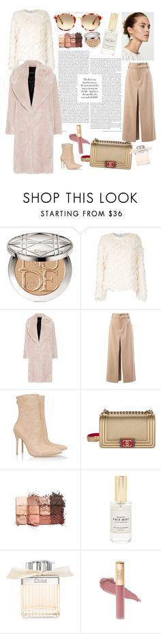 """Minimal style"" by minhann ❤ liked on Polyvore featuring Christian Dior, Goen.J, Cédric Charlier, Chloé, Chanel, tarte and Mullein & Sparrow"