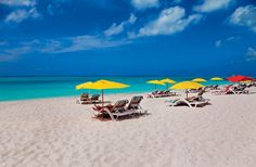 The Turks and Caicos Islands' Top 14 Experiences - GRACE BAY One of the world's best beaches, Grace Bay has twelve miles of powdery white sand that frame a calm stretch of turquoise sea. Despite its popularity, you're sure to find some solitude.