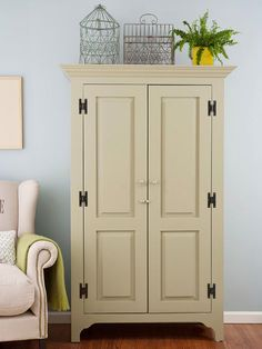 Timeless Armoires Tried-and-true bedroom storage units such as armoires remain popular for a pointed reason. A tall handsome armoire is a decorative addition to any style of bedroom and can be called upon to store just about anything, from a bedroom TV to linens, clothing, and accessories.