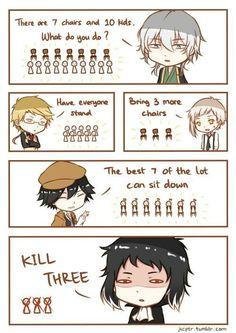 memes with my favourite anime :') enjoy~ contains too much soukoku ( ͡° ͜ʖ ͡°) Dazai Bungou Stray Dogs, Stray Dogs Anime, Noragami, Dog Memes, Funny Memes, Hilarious, Bungou Stray Dogs Atsushi, Saiunkoku Monogatari, Edogawa Ranpo