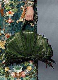 another leaf purse from Chanel...