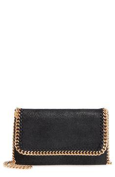 Stella McCartney Shaggy Deer Faux Leather Crossbody Bag Casual Chic Style e0a72de29f156