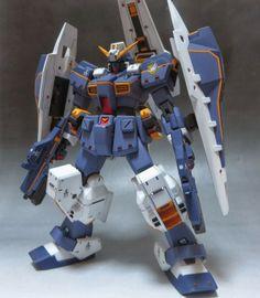 GUNDAM GUY: 1/144 Gundam TR-1 Hazel - Customized Build