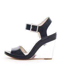 MICHAEL Michael Kors Lana Clear-Wedge Sandal. $175