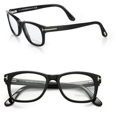 Tom Ford Eyewear 5147 Acetate Optical Frames ($405) ❤ liked on Polyvore featuring men's fashion, men's accessories, men's eyewear, men's eyeglasses, apparel & accessories and black