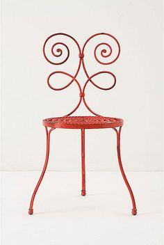 Anthropologie garden chair