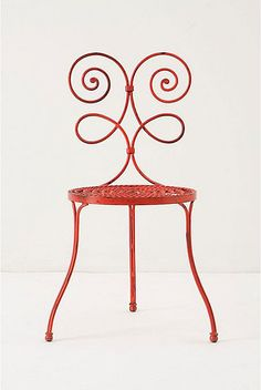 Anthropologie garden chair