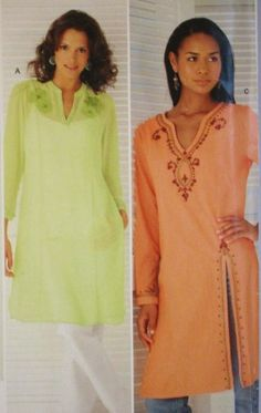 plus sized tunic patterns | ... PLUS-SIZED TUNIC SEWING PATTERN*** - Listia.com Auctions for Free