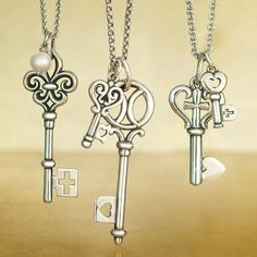 For everyday and always, the iconic and meaningful Key Collection offers true expressions of faith and love. #JamesAvery #Keys #Faith