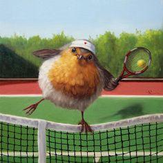 Art Store, Whimsical Art, Bird Art, Beautiful Creatures, Robin, Fine Art Prints, Gallery, Illustration, Artist