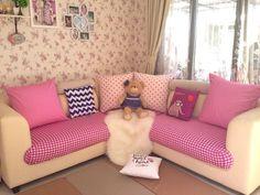 Desain Interior Ruang Tamu Kecil Shabby Chic