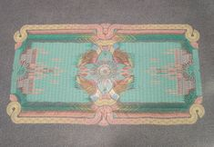 Dutch trio reinterprets carpets using cast-offs of consumer culture. The idea's not new, but the look is great!