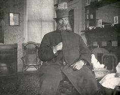 Charles Forbes, footman to president Lincoln, who was on duty the night of the President's assassination, ca.1865
