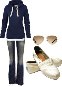Easy and practical weekend outfit