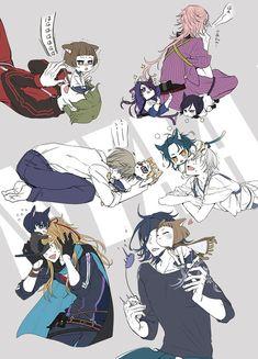 埋め込み Anime Dad, Anime Guys, Anime Chibi, Manga Anime, Touken Ranbu Characters, Natsume And Mikan, Cute Chibi, Manga Games, Cute Characters