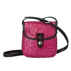 It's pretty much impossible for me to carry a small handbag. But if it were something I could do, I would love this one!