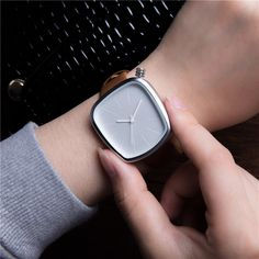 Black Pebble Leather Minimalist Quartz Fashion Watch     Tag a friend who would love this!     FREE Shipping Worldwide     Get it here ---> http://hisandhertrove.com/black-pebble-leather-minimalist-quartz-fashion-watch/