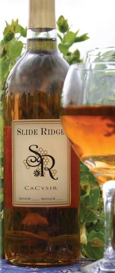 Slide Ridge - Mendon, UT; Makes CaCysir honey wine as well as honey vinegar