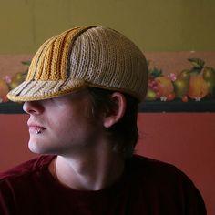"""Mercury"" cycling cap knitting pattern by Tony Limuaco, $10"